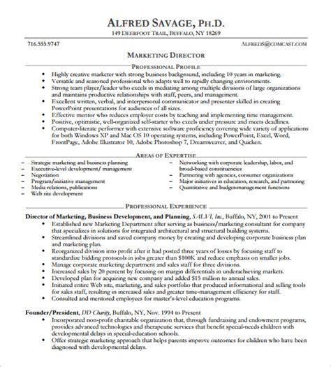 Executive Level Resume Template by Resume Sles Executive Level Danaya Us