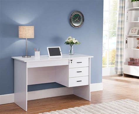 White Office Furniture by White Office Desk Id178 Desks