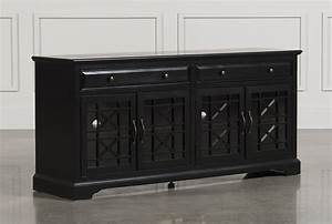 Annabelle Black 70 Inch Tv Stand - Living Spaces