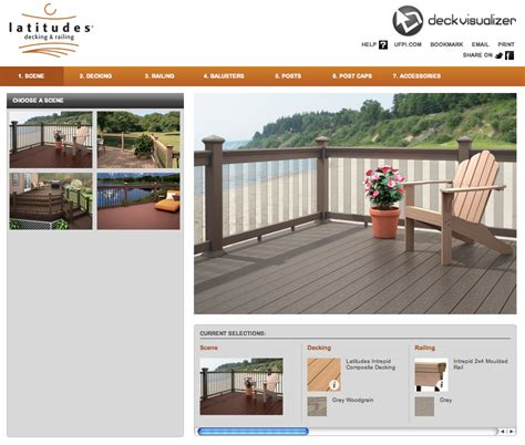 composite deck designs made easy with latitudes free deck