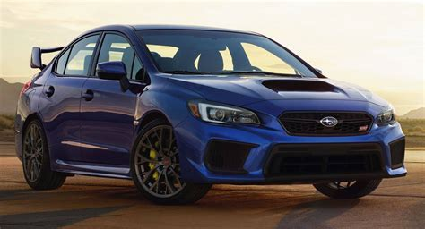 2019 Subaru Wrx And Wrx Sti Gain New Seriesgray Limited