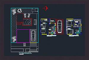 Small Apartment In Autocad