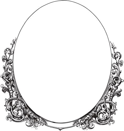 free royalty free clipart royalty free images ornate oval frame border oh so
