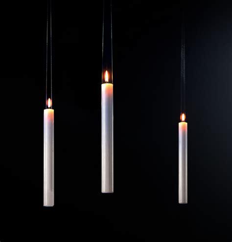 a candela bougie fly candle fly 224 suspendre blanc ingo maurer