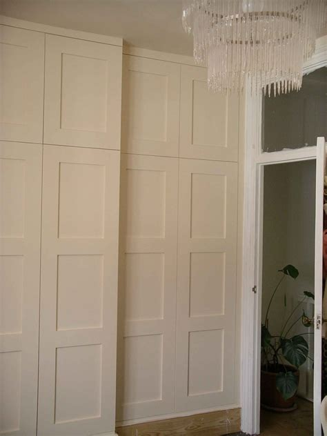 paneled door wardrobe bespoke   peter henderson