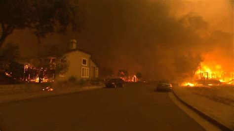 Northern California Wildfires Claim At Least 15 Lives As
