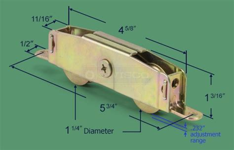 81 018 sliding patio glass door tandem roller swisco
