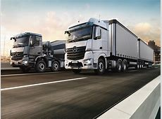 2018 MercedesBenz Actros and Arocs revealed in the Middle
