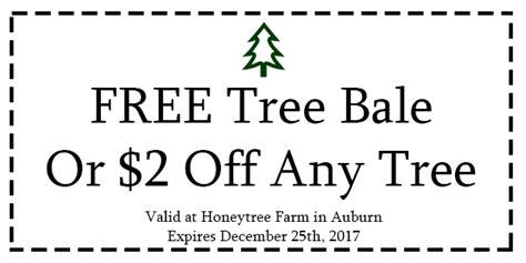 tree farm coupon honeytree farm auburn tree farm