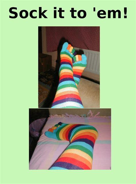 Sock Meme - sock it to em meme by gharanth on deviantart