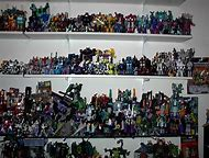 All the transformers toys young cartoons threesome