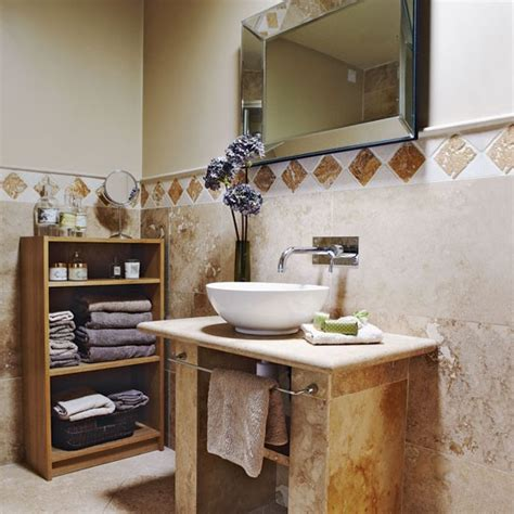 country home bathroom ideas neutral stone bathroom bathroom designs bathroom tiles housetohome co uk