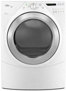 Whirlpool Wed9450ww 27 Inch Electric Dryer With 7 2 Cu  Ft