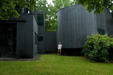 The Rubber House  Contemporary  Exterior  New York By