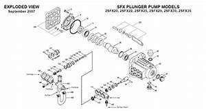 2sfx29els Cat Pump - Direct-drive Plunger Pump
