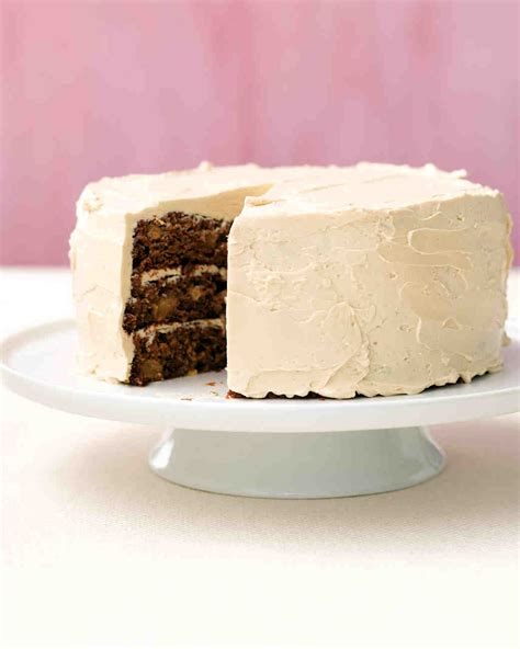 Johns Three Layer Apple Cake Recipe Martha Stewart Weddings