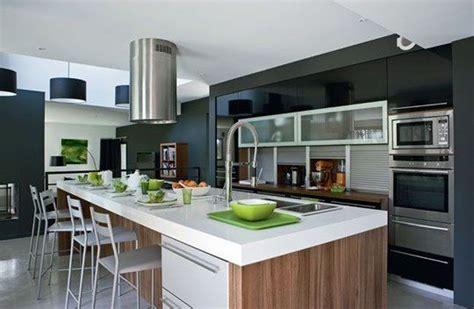 photos cuisine ouverte cuisine moderne ouverte sur salon collection et chambre
