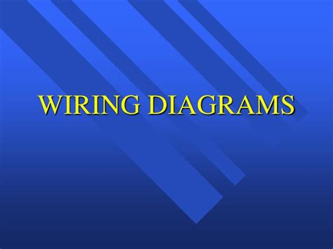 ppt wiring diagrams powerpoint presentation id 1414690