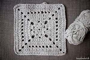 Granny Squares Häkeln : tutorial grey granny square decke ~ Orissabook.com Haus und Dekorationen