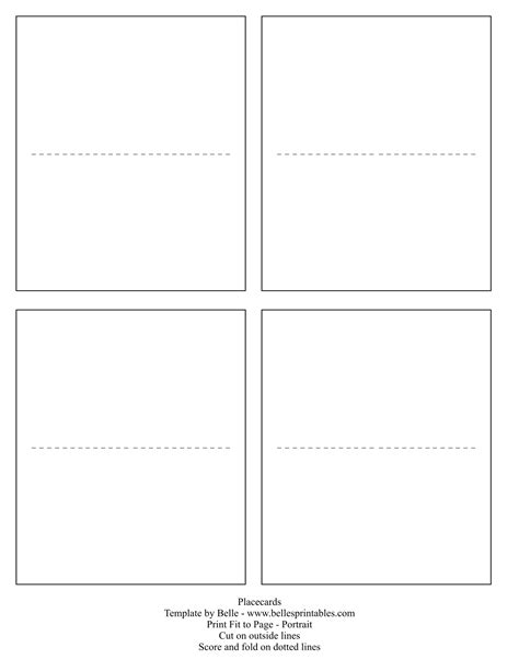microsoft word place card templates   sheet cardbkco