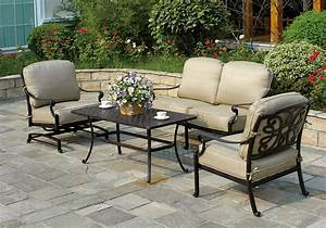 Collection patio set modern patio outdoor for Glenlee patio furniture covers