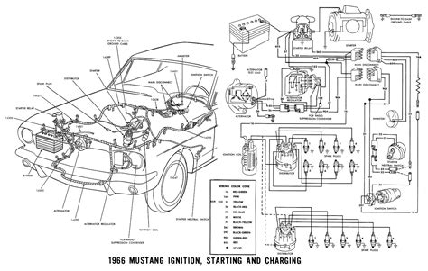 Electric Wiring Diagram Ford Mustang 2009 by My Has A 1966 Ford Mustang With A 6 And It