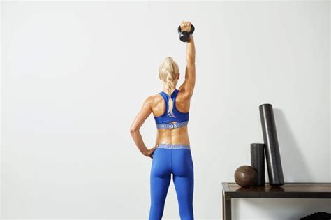 butt exercises workout kettlebell glute beginner cardio single strength popsugar body fitness weight challenge leg should minute structure weights total