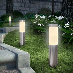led light design amazing led bollard lights bollards With eclairage de sol exterieur