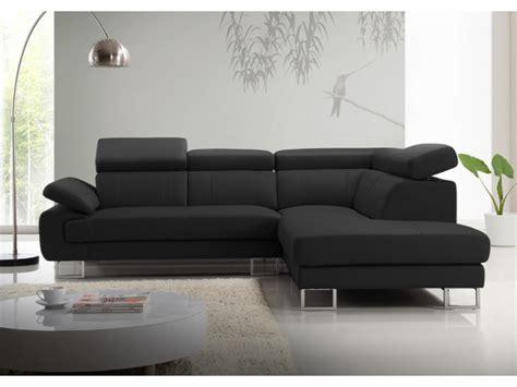 canapé d angle photos canapé d 39 angle cuir noir