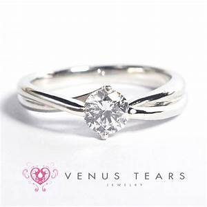 p750 05 engagement ring venus tears singapore With singapore wedding ring