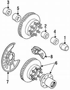 Ford Ranger Wheel Bearing Race  Outer  Suspension  Front