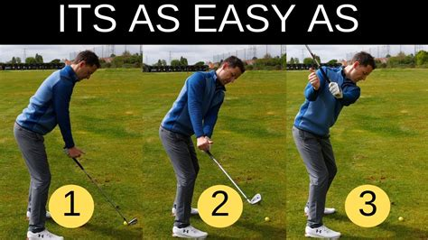 basic golf swing basic golf swing drills thumbs up drill