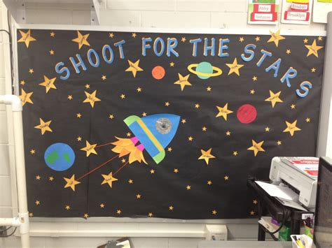 space bulletin boards ideas  pinterest door