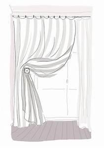 Embrases Double Rideaux : donnez du style vos rideaux c t maison ~ Teatrodelosmanantiales.com Idées de Décoration