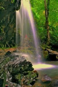 Grotto Falls Smoky Mountain Waterfalls