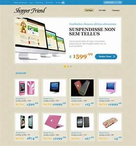 free ecommerce website templates shopping