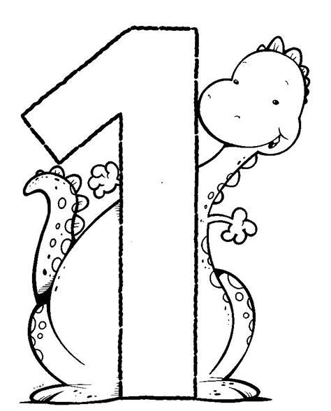 Fichas Infantiles: Fichas del número 1