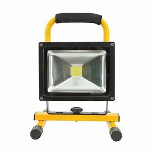 Ledfl w kr portable rechargeable k led flood