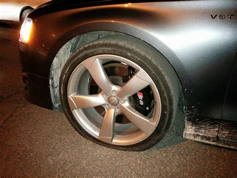 Nothing Like A Montreal Pothole To Tear Up A Brand New Audi S8