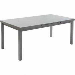 Table 6 Personnes : table de jardin naterial niagara rectangulaire gris 6 personnes leroy merlin ~ Teatrodelosmanantiales.com Idées de Décoration