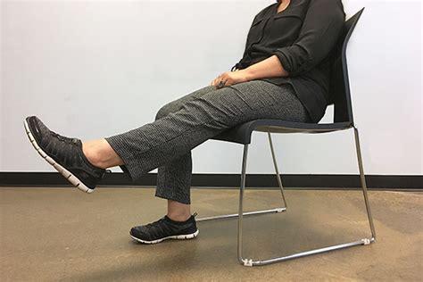 fall prevention exercises seniors    sitting