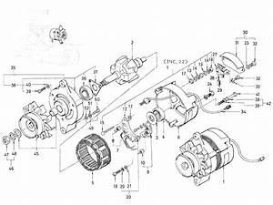 Datsun Pickup  520  521  Alternator  J13 Mitsubishi   From