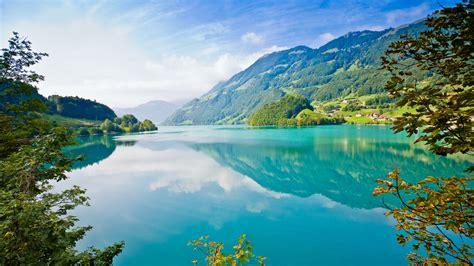 Wallpaper Beautiful blue water green nature 2560x1600 HD ...