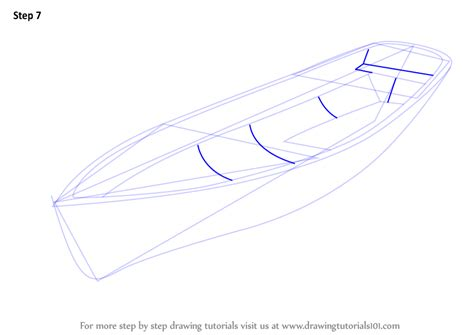 Viking Boats Step By Step by Learn How To Draw A Boat Boats And Ships Step By Step