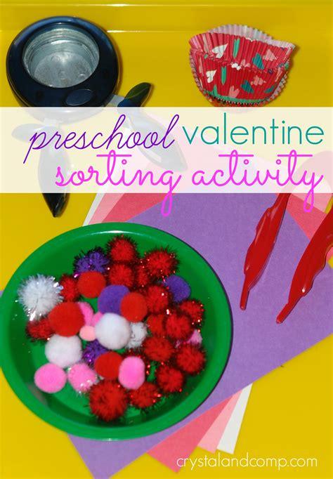 preschool sorting activities 453 | preschool valentine sorting activity