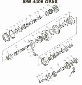 Transfer Case Parts Diagram