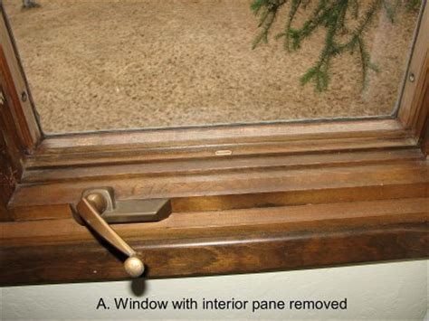 replacing glass   pella casement window doityourselfcom community forums