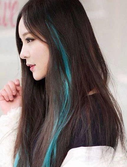 gorgeous peekaboo highlights  enhance  hair