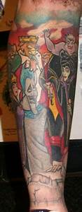 Tattoos on Pinterest | Disney Princess Tattoo, Disney ...