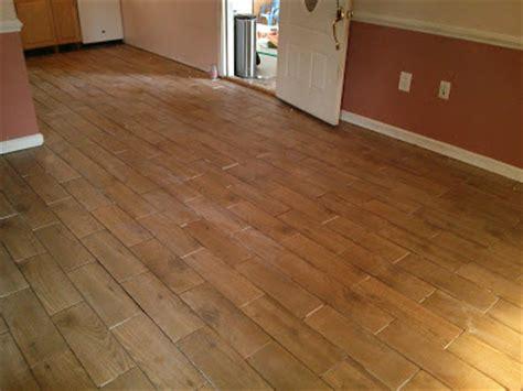 floor installation  wood  porcelain tile